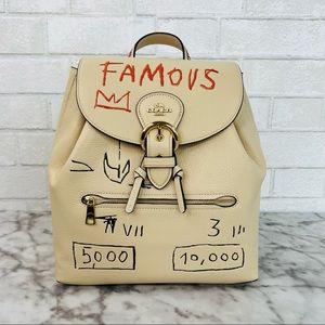 Coach X Jean Michel Basquiat Kleo Backpack